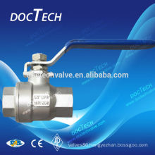"""BSP/BSPT/NPT 2-PC Stainless Steel,SS304,SS316L,SS201 Material 3/8""""-4""""and High Pressure Pressure stainless steel ball valve"""