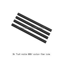 Tubos feitos sob encomenda da fibra do carbono do ODM que moldam as peças para Quadcopters