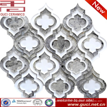 Nuevo diseño de materiales de construcción Mosaico de azulejos de vidrio en acrílico