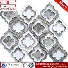 новые строительные материалы Мозаика дизайн стеклянная плитка в акрил