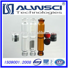 Manufacturing 1.5ML Clear Glass Vial mit Crimp Caps, Agilent Qualität