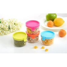Petite cuisine 150ml utilisation pot de rangement en plastique