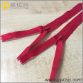 Diverses couleurs Custom Beautiful Nylon Invisible zipper