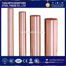tubo de cobre de pequeno diâmetro, preço de tubo de latão