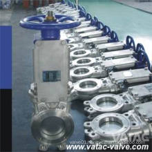 Manual Stainless Steel Wafer Knife Gate Valve