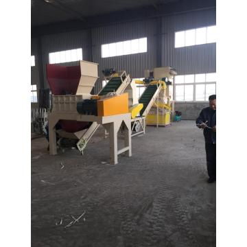 Copper Aluminum Waste Radiator Recycling Machine