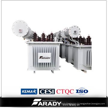 Transformateur de phase de pétrole de 16kv Power 3 fabriqué en Chine