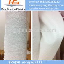 housse de matelas enduit de tissu de Terry / tissu de protecteur