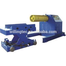 colour galvanised coil uncoiler machine