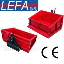Caja de transporte de tractor metálico de caja de 3 puntos