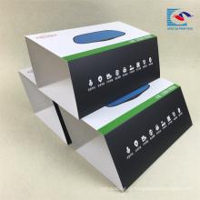 Embalagem de manga de papel reciclado impressa por atacado de alta qualidade