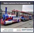 Tren turístico diesel de China 20-80seats en área turística