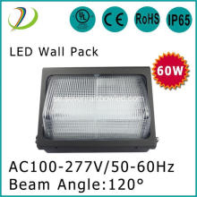 120 graders 120 W LED Wall Pack DLC