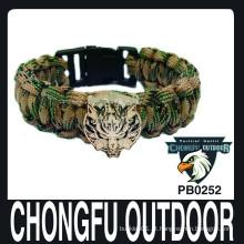 Bracelete 2015 militar kit de sobrevivência