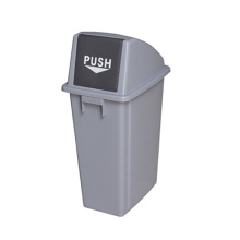 60 Liter Outdoor Push Plastic Waste Bin (YW0032)
