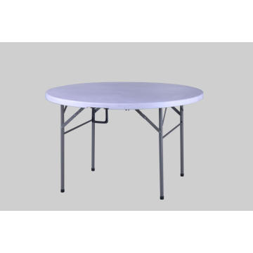 Table Pliante Ronde En Demi Table