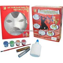 fiesta cool diseños niños DIY máscara de halloween