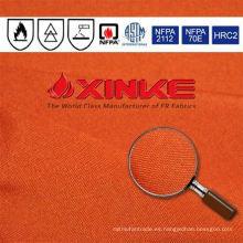 200gsm sarga aramid anti protección contra incendios telas