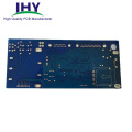 Double Layer FR4 94V0 Rigid PCB With HASL Surface And Blue Soldermask