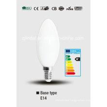 Full Glass LED Candle Bulb C37-Qb