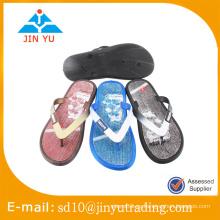 2016 China precio de fábrica último diseño PCU outsole flip flop sandalia zapatilla