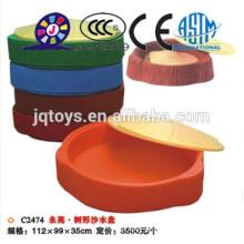 Caja de la arena del disco de la arena de la herramienta de la playa de JQC2474 Hotsale nueva para la venta