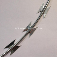 BTO-22 Hot-Dipped Galvanized Concertina Razor Wire