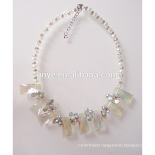 Fashion Bling Bling Crystal Beaded Statement Jewelry For Party or Show