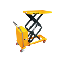 Listrik Hydraulic Scissor Lift Table Trolley