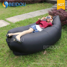 Famille Amis Couples Hangout Fast Inflatable Banana Air Sleeping Bed
