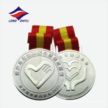 Cadeaux de souvenir promotionnels médaille de métal personnalisée