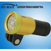 HI-MAX 2400 Lumen tauchen Video / Foto Licht