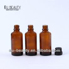 Pharmazeutische bernsteinfarbene ätherische Ölflasche 30ml