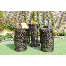 Wicker PE Rattan Round Bar