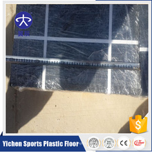 non-toxic PVC gym recycled rubber flooring For Fitness interlocking floor tiles