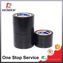 Matériau d'isolation Fabricant Ruban adhésif électrique Couleur noire Ruban adhésif PVC personnalisé bon marché
