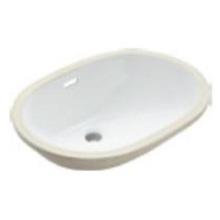 Fregadero de baño de cerámica grande Undercuonter