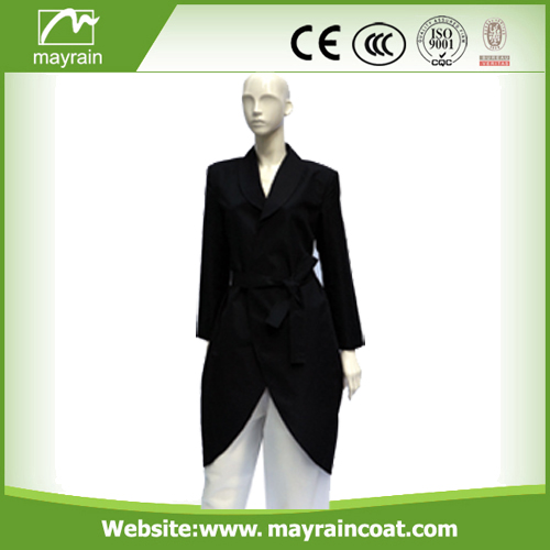 190 T Polyester Women Raincoat