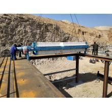 Machine de déshydratation de boue d'équipement d'eaux usées de filtre-presse