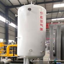 Industrial liquid oxygen nitrogen waterbath vaporizer
