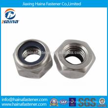 Stock DIN985/DIN982 Stainless Steel Nylon Insert Nuts