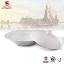 La Chine fabrique de porcelaine micro-ondes grande soupe bol pour la soupe
