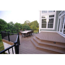 Wood Plastic Composite Solid WPC Flooring with The Size of 71mmx11mm
