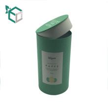 пробка бумаги Kraft изготовленного на заказ картона бумаги искусства кофе упаковывая с крышкой