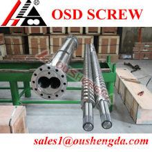 nitrogen recycling bimetal screw cylinder for plastic extrusion machine