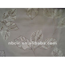Jacquard Vorhang Stoff hergestellt aus 100 % polyester