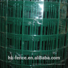 Malla de alambre soldado con recubrimiento de PVC en stock