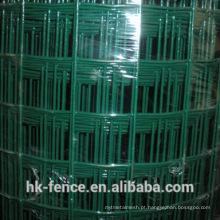 Malha de arame soldada revestida de PVC em estoque
