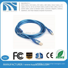 Câble d'imprimante micro usb de 3 mètres à chaud de haute qualité 20awg-28awg AB 9 '(3 m)