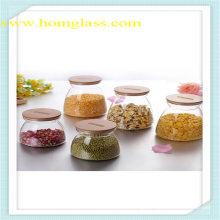 High Borosilicate Glass Food Storage Jar
